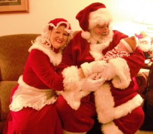 5 Santa and Mrs. Claus with baby