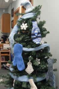 Close-up of mitten tree